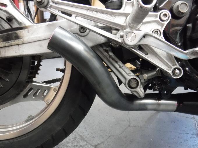 CBX400Fのマフラー製作とキャブ修理・・・その3_a0163159_22300988.jpg