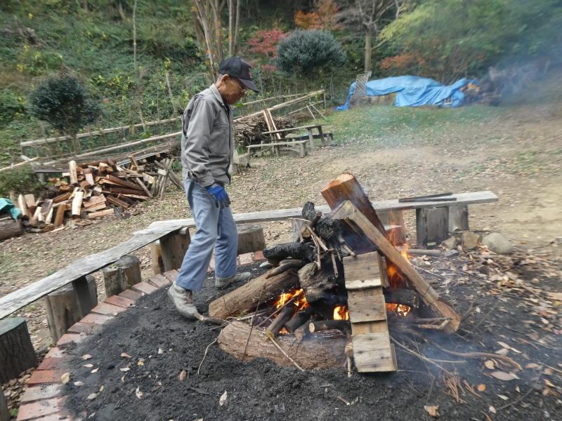 孝子の森定例活動にイノシシも参加か・・・?_c0108460_17551117.jpg