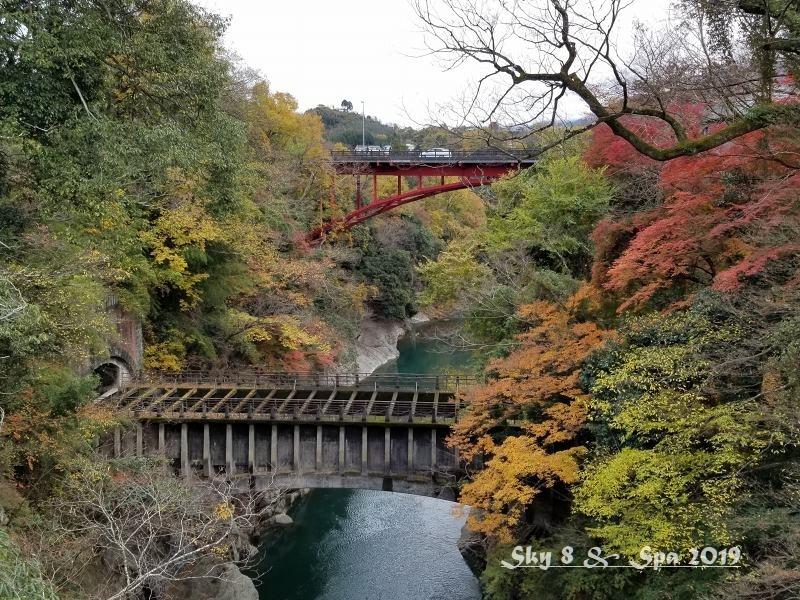 ◆ ギネス認定・世界最古の宿へ、その9 日本三奇橋「猿橋」へ(2019年11月)_d0316868_22183547.jpg