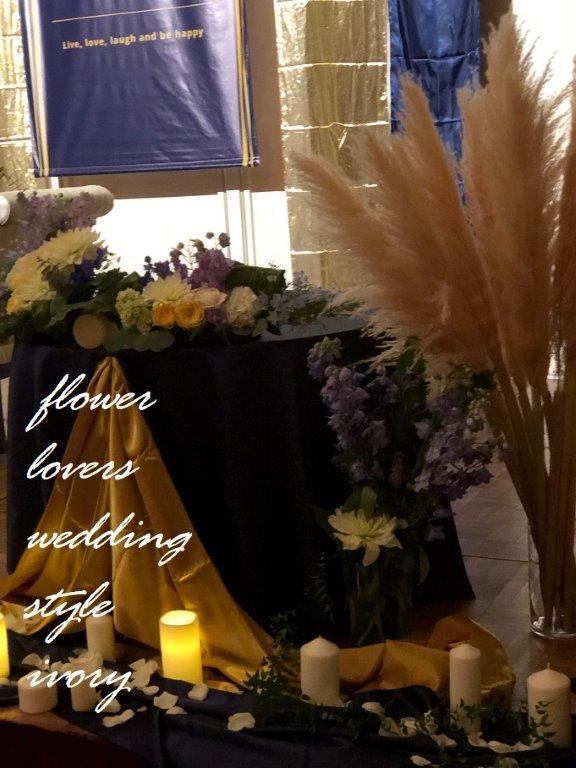 〜週末の婚礼から〜♬_b0094378_19002352.jpeg