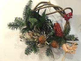 Un Jour クリスマスの花あそび 2019_b0241386_18212442.jpg
