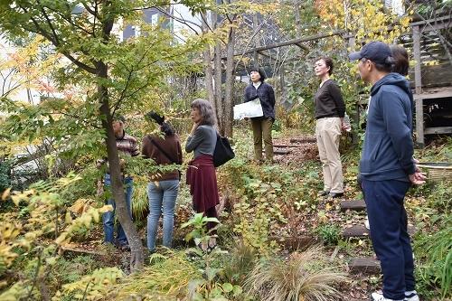 「緑でつながる庭づくり 秋編」開催しました!_c0124100_12344670.jpg