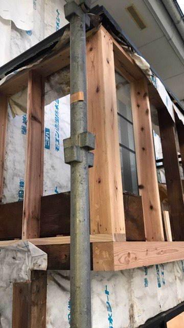 アパートの外装改修工事が始まりました!_f0105112_05092020.jpg