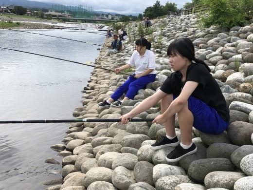 2019年講座 アユ釣り 山菜採り_b0083415_15212448.jpg