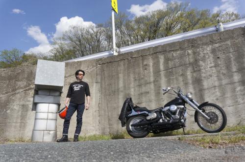近 浩志  & Harley-Davidson  FLST(2019.04.29/YAMAGATA)_f0203027_16384009.jpg