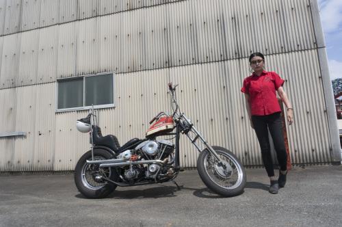 折戸 沙紀子 & Harley-Davidson FX1200(2019.08.25/MATSUZAKA)_f0203027_16490608.jpg