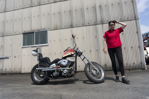折戸 沙紀子 & Harley-Davidson FX1200(2019.08.25/MATSUZAKA)_f0203027_16491715.jpg