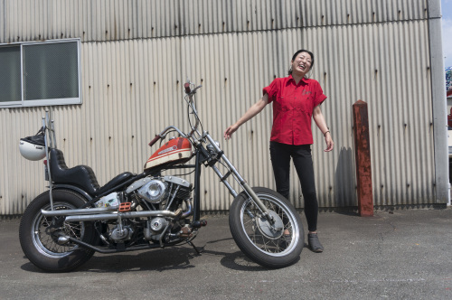 折戸 沙紀子 & Harley-Davidson FX1200(2019.08.25/MATSUZAKA)_f0203027_16495275.jpg