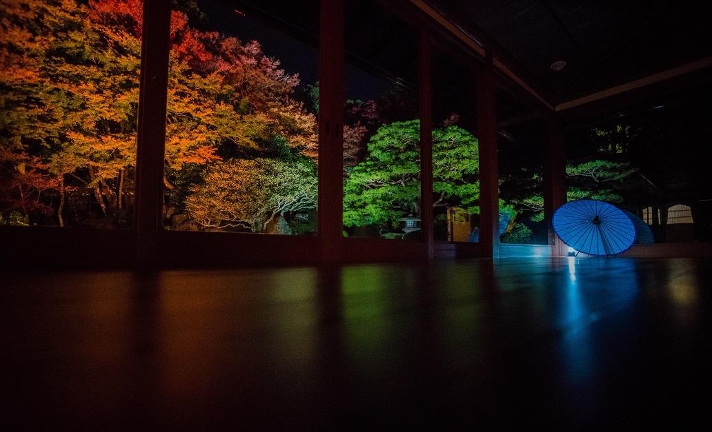 2019滋賀紅葉~旧竹林院ライトアップ_e0363038_15103349.jpg