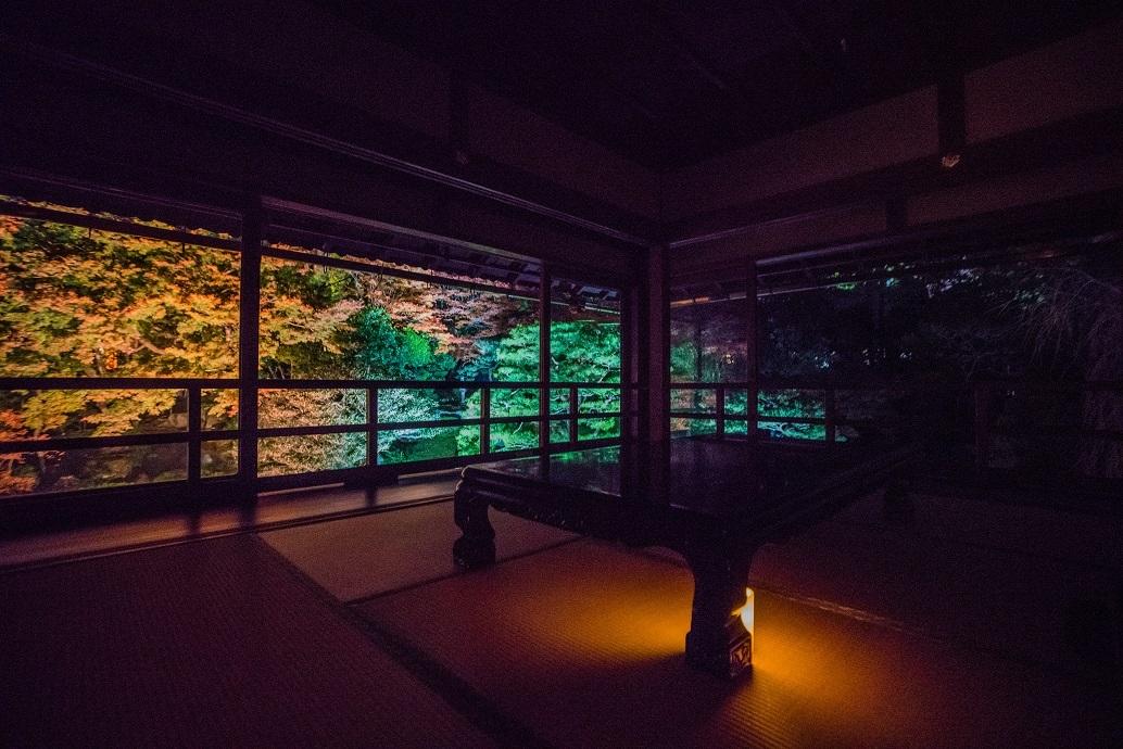 2019滋賀紅葉~旧竹林院ライトアップ_e0363038_15104896.jpg