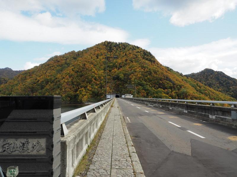 2019.10.16 定山渓ダム_a0225740_08350501.jpg