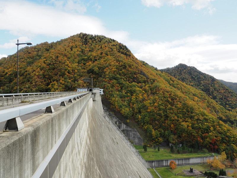 2019.10.16 定山渓ダム_a0225740_08353106.jpg
