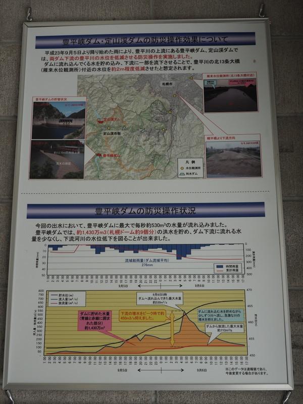 2019.10.16 定山渓ダム_a0225740_08355158.jpg