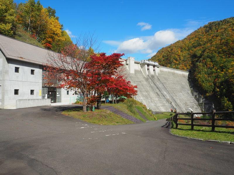 2019.10.16 定山渓ダム_a0225740_08355163.jpg
