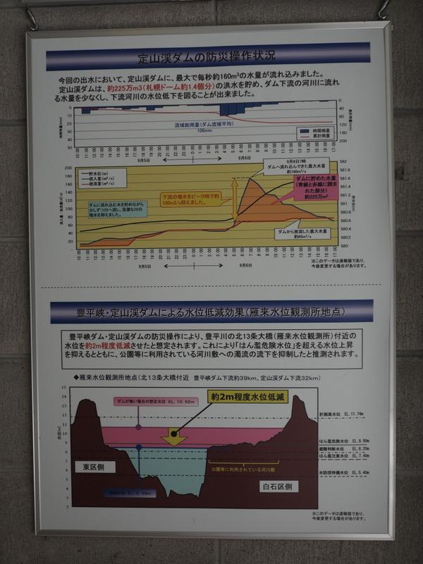 2019.10.16 定山渓ダム_a0225740_08473111.jpg