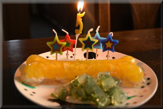 お祝いケーキ、もう一度 _f0363141_08154765.jpg