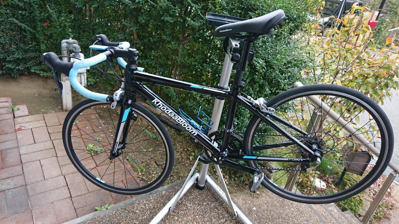 友人の息子の自転車_a0386742_13394615.jpg