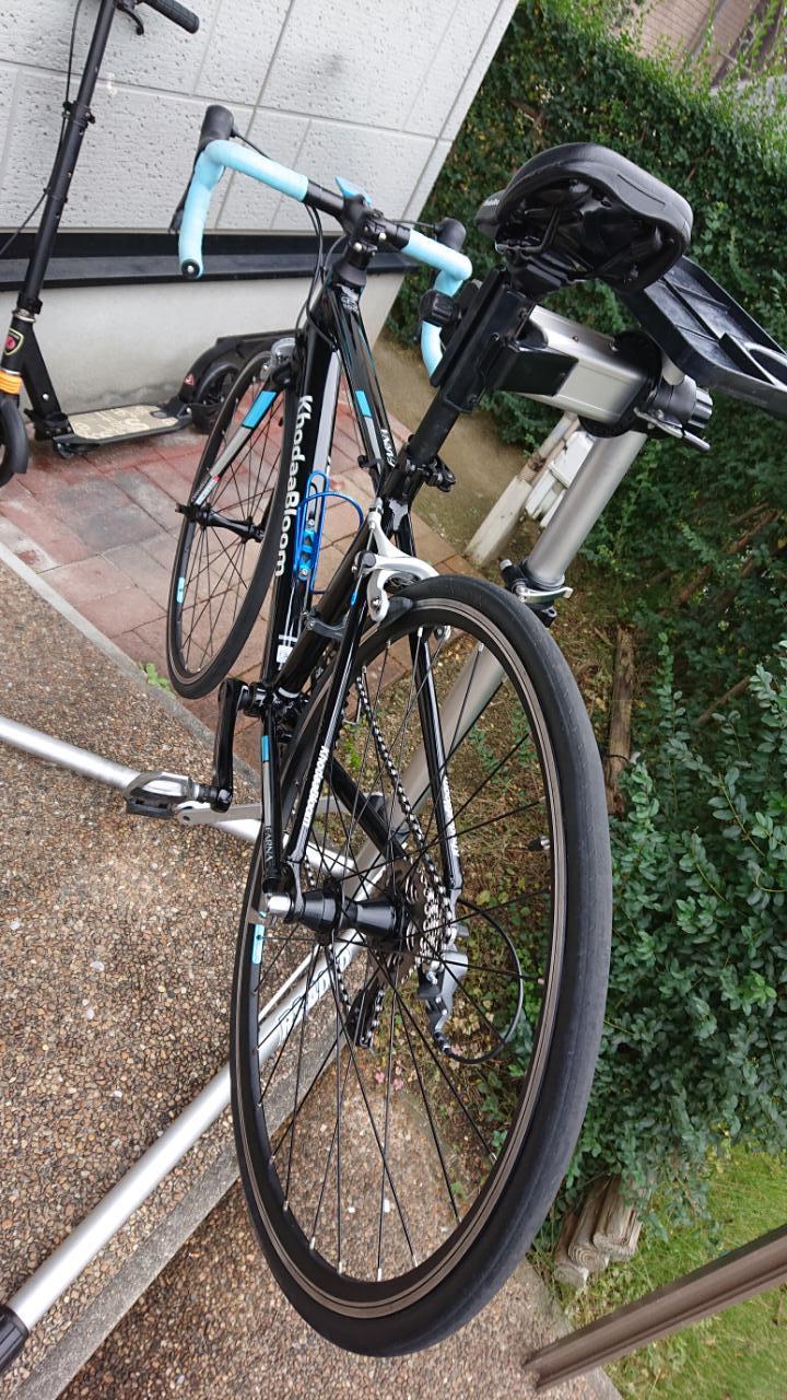 友人の息子の自転車_a0386742_13394813.jpg