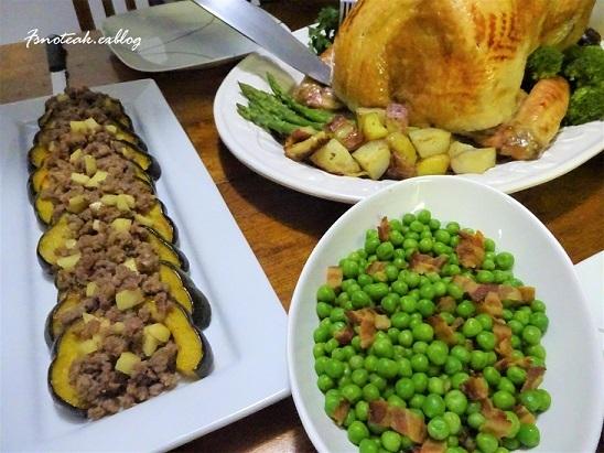 感謝祭 Dinner_d0356844_14244087.jpg