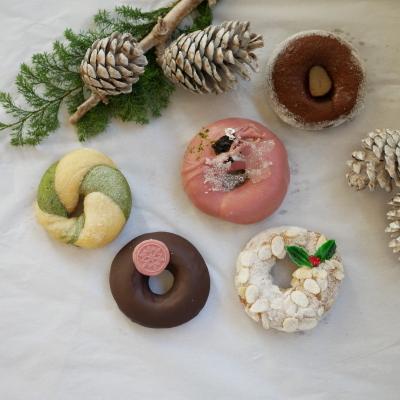 「クリスマスドーナツセット2019」 12月6日より予約受付いたします!_a0221457_16571532.jpg