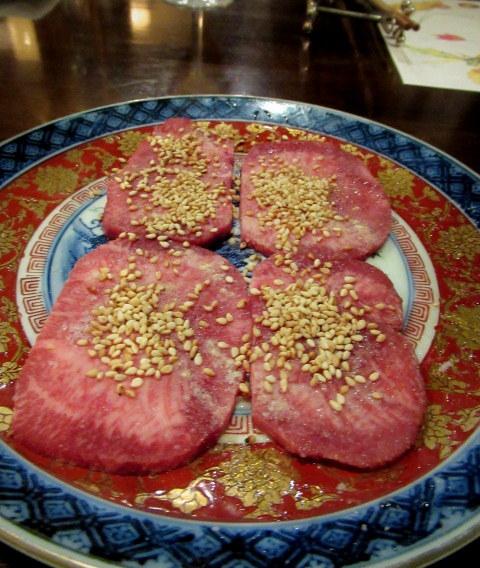 銀婚式のお祝い * 清香園で上等なお肉をいただく♪_f0236260_01522649.jpg