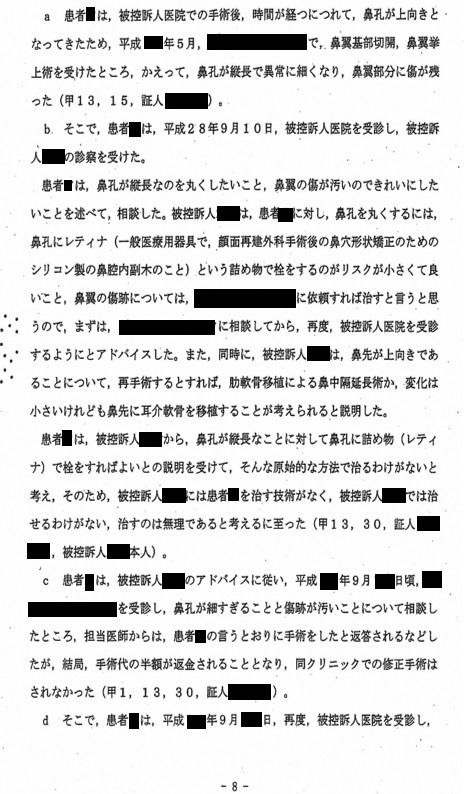 B医師裁判 東京高等裁判所判決_d0092965_03235499.jpg