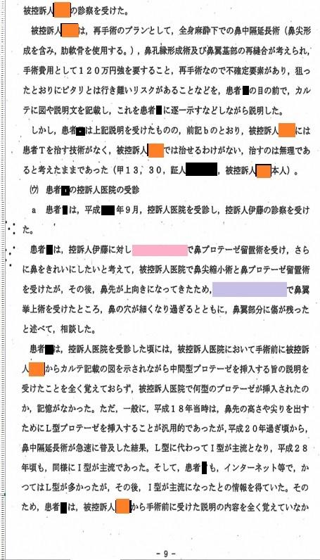 B医師裁判 東京高等裁判所判決_d0092965_03241252.jpg