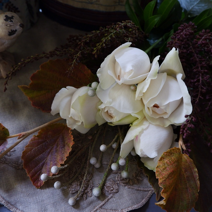 オークリーフ(さり気ない花束)_f0049672_22334876.jpg