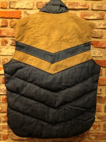 """1950s \"""" ⑤BROTHER \"""" 100% WOOL ‐ マチ付き - VINTAGE C.P.O SHIRTS JACKET ._d0172088_20390495.jpg"""