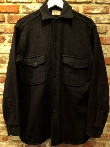 """1950s \"""" ⑤BROTHER \"""" 100% WOOL ‐ マチ付き - VINTAGE C.P.O SHIRTS JACKET ._d0172088_20530836.jpg"""