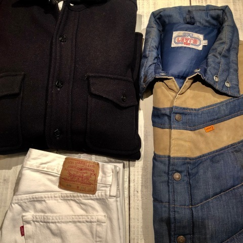 """1950s \"""" ⑤BROTHER \"""" 100% WOOL ‐ マチ付き - VINTAGE C.P.O SHIRTS JACKET ._d0172088_21455033.jpg"""