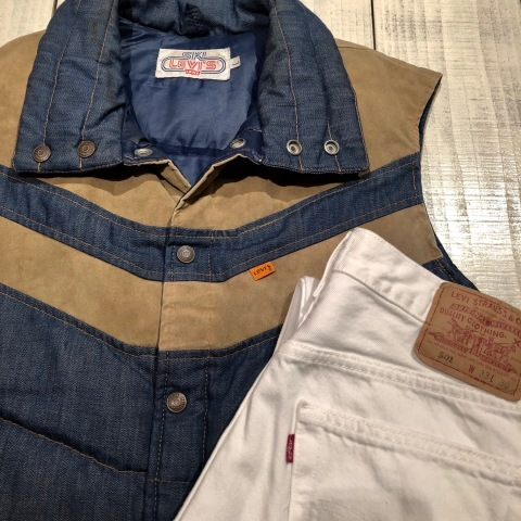"""1950s \"""" ⑤BROTHER \"""" 100% WOOL ‐ マチ付き - VINTAGE C.P.O SHIRTS JACKET ._d0172088_21463480.jpg"""