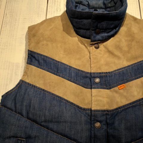 """1950s \"""" ⑤BROTHER \"""" 100% WOOL ‐ マチ付き - VINTAGE C.P.O SHIRTS JACKET ._d0172088_21482099.jpg"""