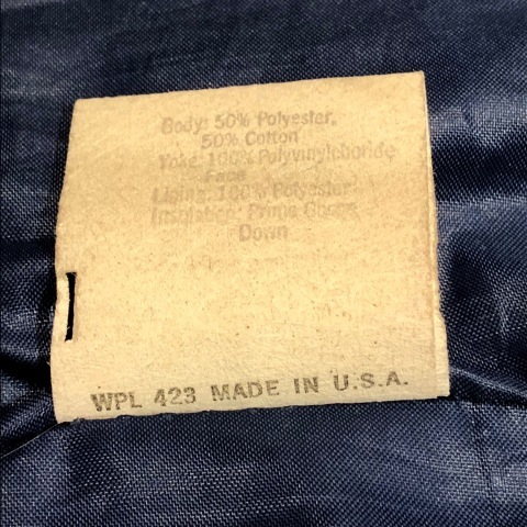 """1950s \"""" ⑤BROTHER \"""" 100% WOOL ‐ マチ付き - VINTAGE C.P.O SHIRTS JACKET ._d0172088_21533566.jpg"""