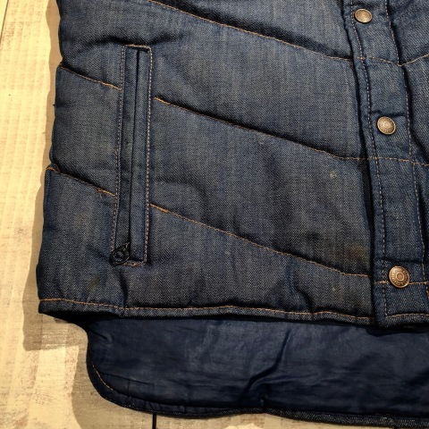"""1950s \"""" ⑤BROTHER \"""" 100% WOOL ‐ マチ付き - VINTAGE C.P.O SHIRTS JACKET ._d0172088_21544757.jpg"""