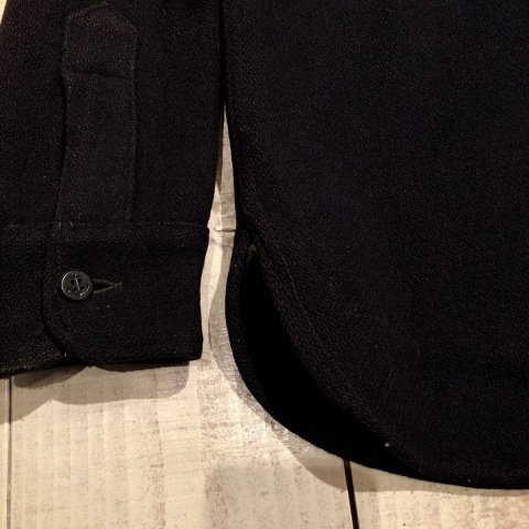 """1950s \"""" ⑤BROTHER \"""" 100% WOOL ‐ マチ付き - VINTAGE C.P.O SHIRTS JACKET ._d0172088_22022566.jpg"""