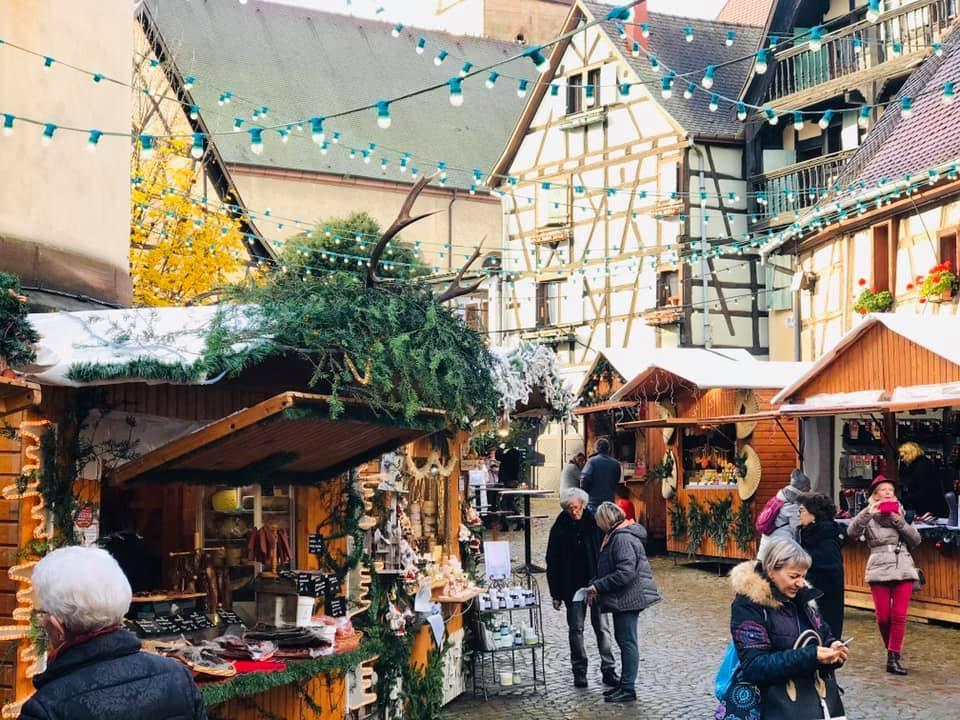 クリスマスマーケット巡りⅡ Eguisheim エギスハイム_a0100596_10410091.jpg