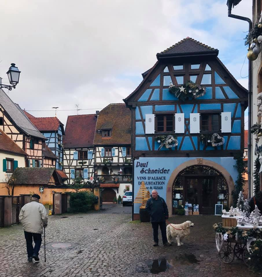 クリスマスマーケット巡りⅡ Eguisheim エギスハイム_a0100596_10410634.jpg