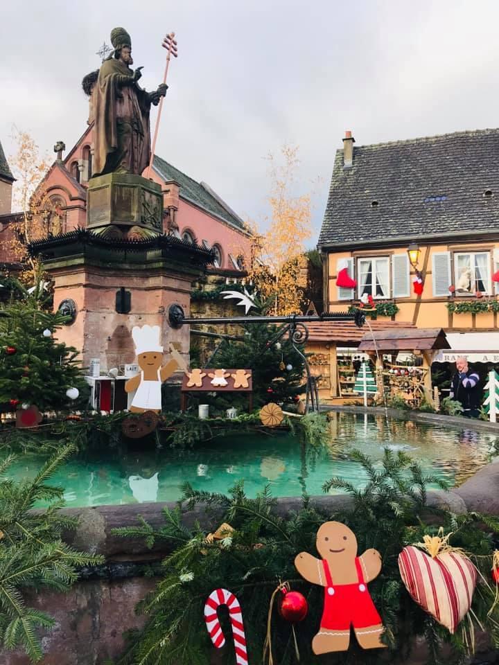 クリスマスマーケット巡りⅡ Eguisheim エギスハイム_a0100596_10412967.jpg