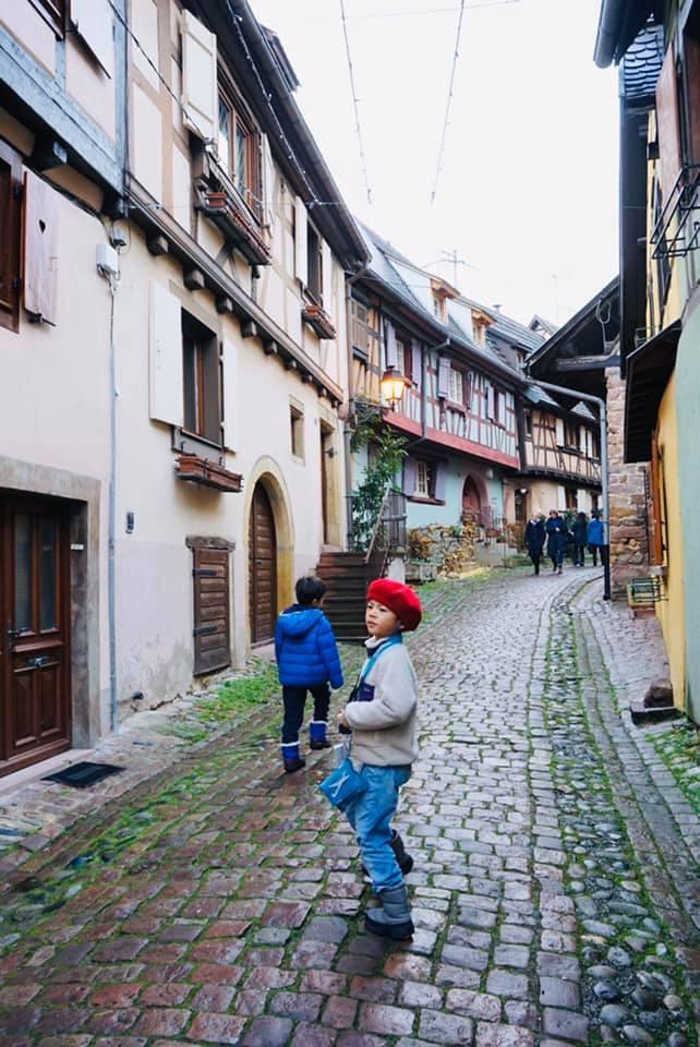 クリスマスマーケット巡りⅡ Eguisheim エギスハイム_a0100596_10420722.jpg