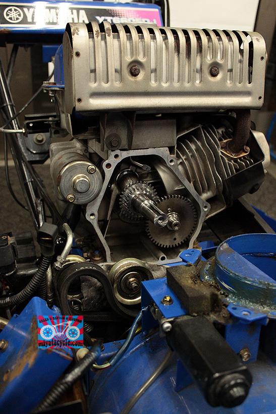 YT660ED ドレンからのオイル漏れ修理_e0126901_08191698.jpg