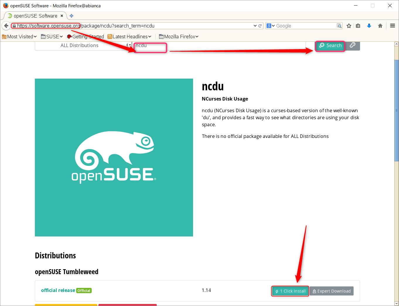 ディスク占有犯は誰!SUSE Linux でディレクトリの占有量を調査 ncdu_a0056607_13191663.png