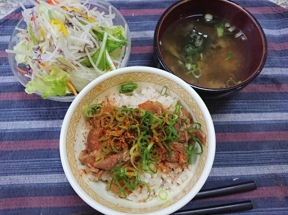 12/5 S&B食品 牛丼セット@自宅_b0042308_16521983.jpg