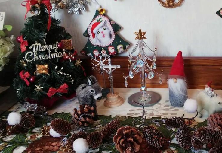 クリスマスディスプレイ nkさん_f0171209_09392027.jpg