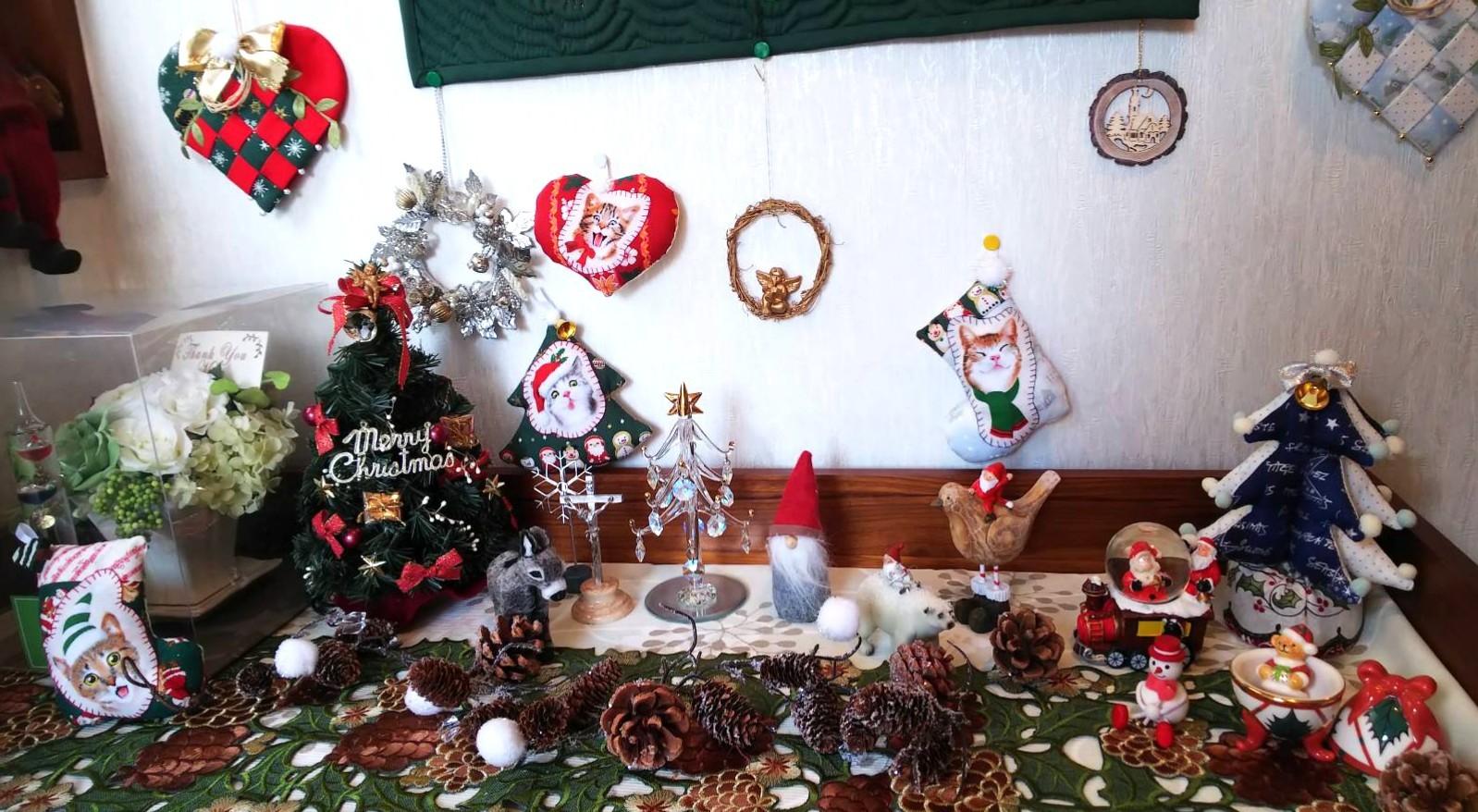 クリスマスディスプレイ nkさん_f0171209_09392050.jpg