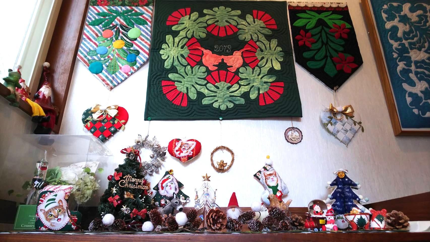 クリスマスディスプレイ nkさん_f0171209_09392112.jpg