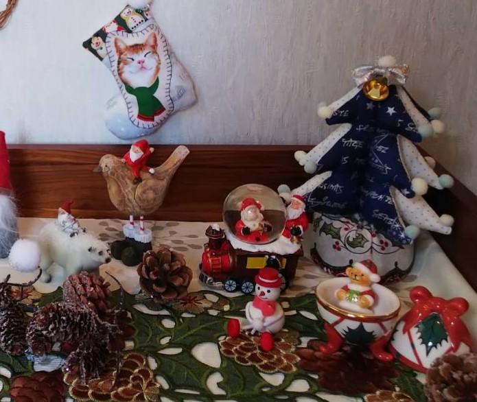 クリスマスディスプレイ nkさん_f0171209_09392167.jpg