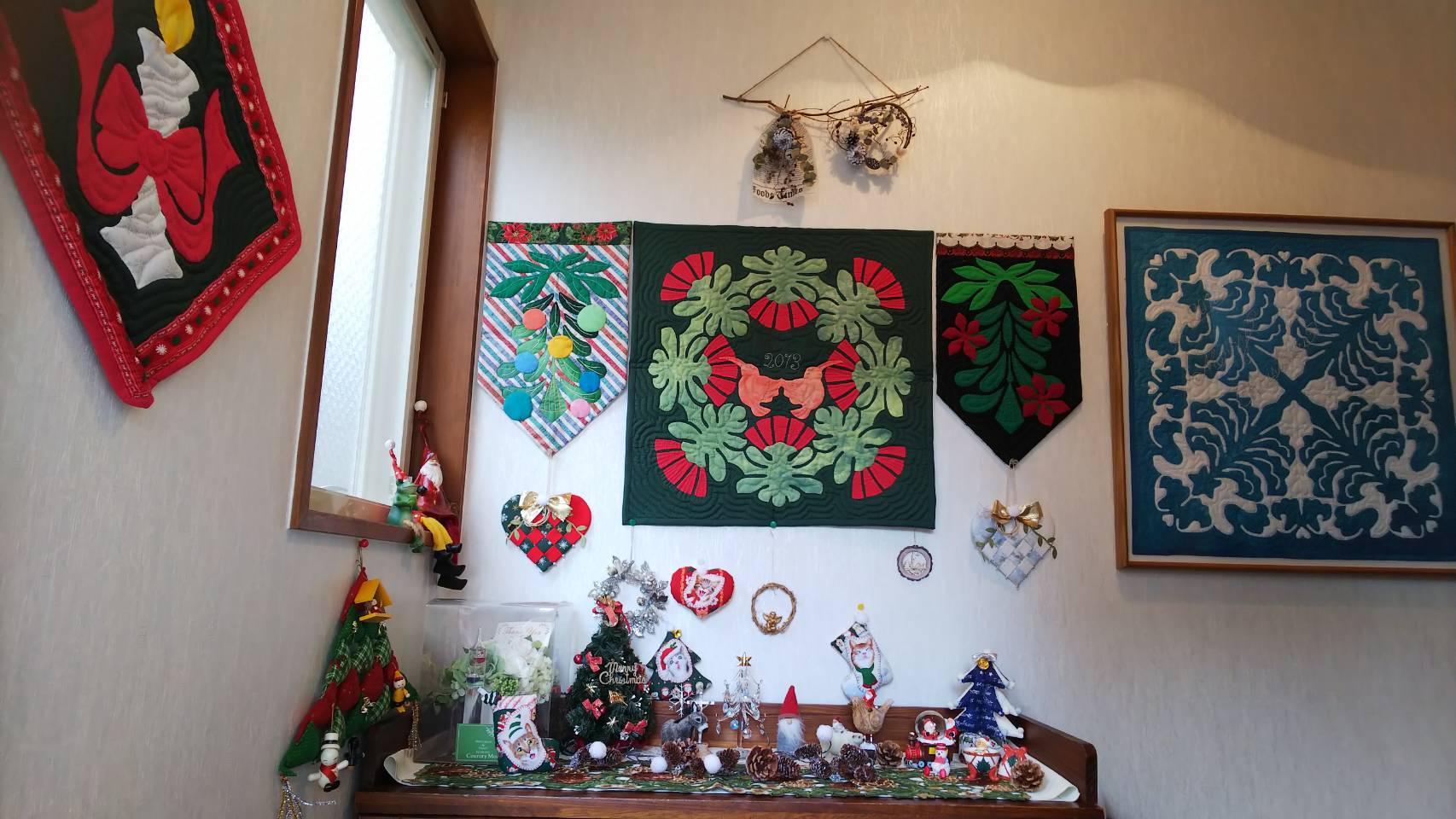 クリスマスディスプレイ nkさん_f0171209_09402851.jpg