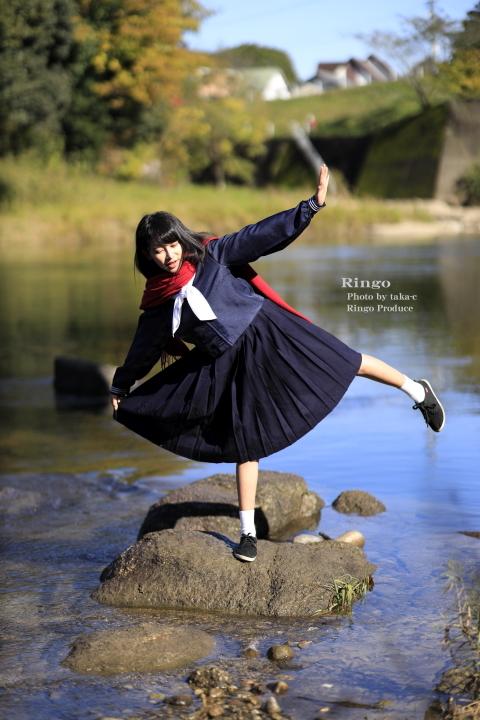 林檎 presents 廃線 × セーラー服_f0253927_20460606.jpg