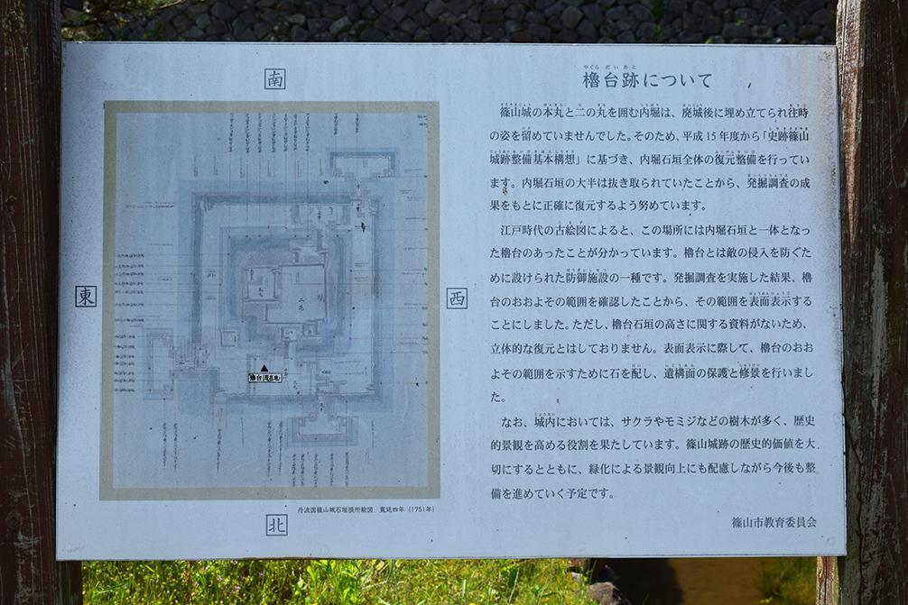 丹波国篠山城跡を歩く。 その1 ~内堀~_e0158128_16084469.jpg